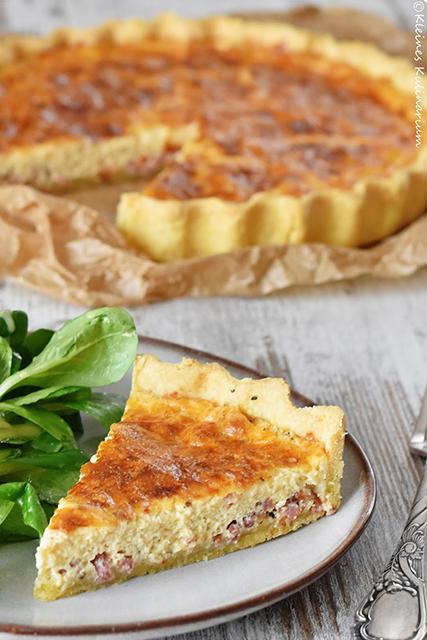 Quiche Lorraine Ein Französischer Klassiker Kleines Kulinarium
