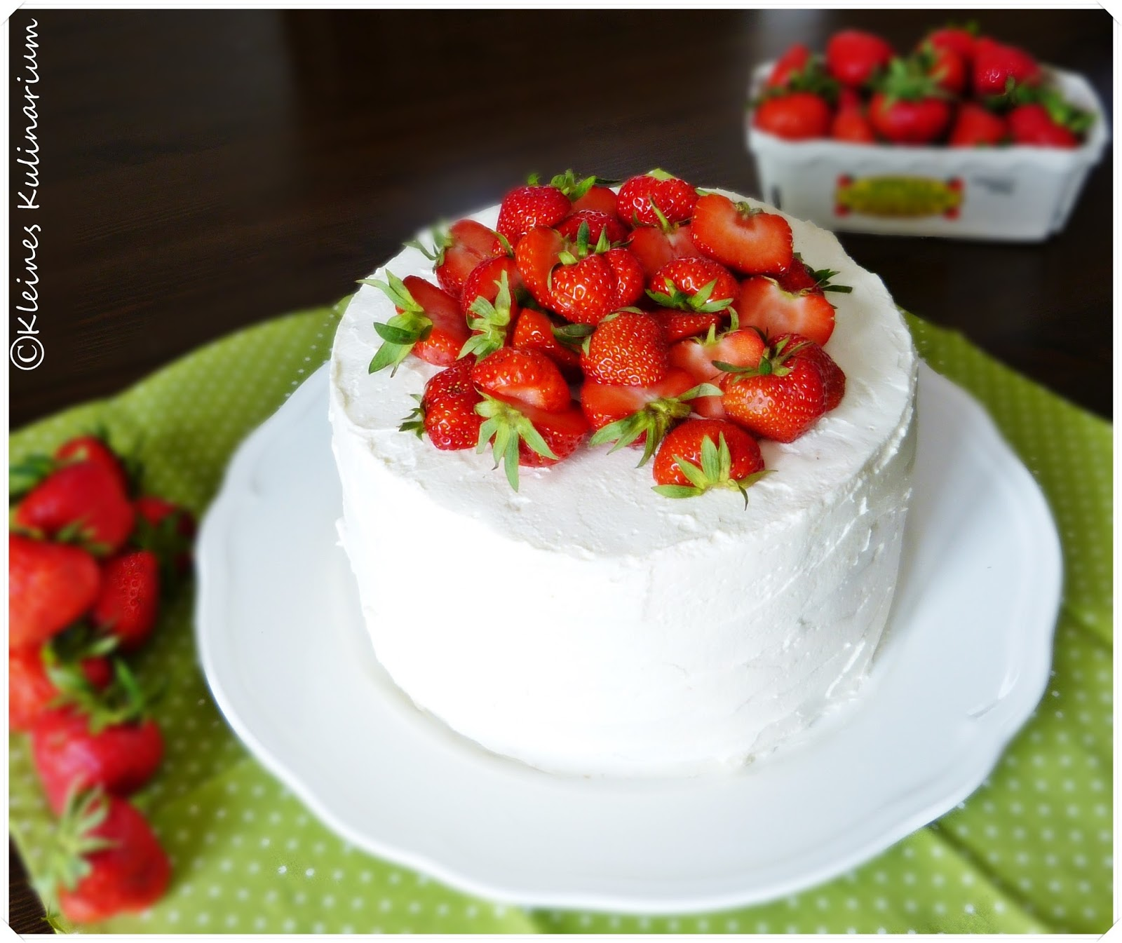 Erdbeer Mascarpone Torte Kleines Kulinarium