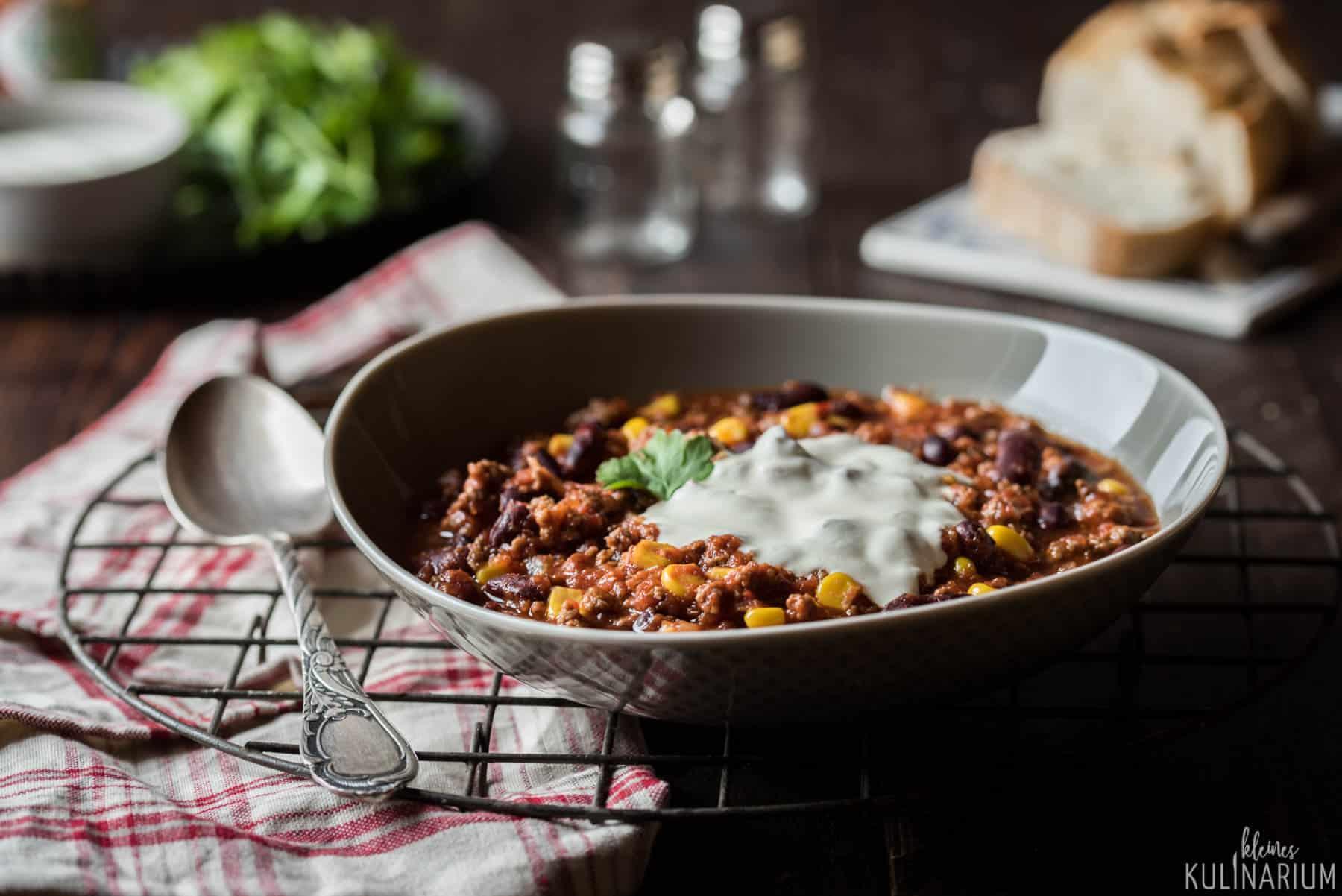 chili con carne meine version dieses klassikers kleines kulinarium. Black Bedroom Furniture Sets. Home Design Ideas
