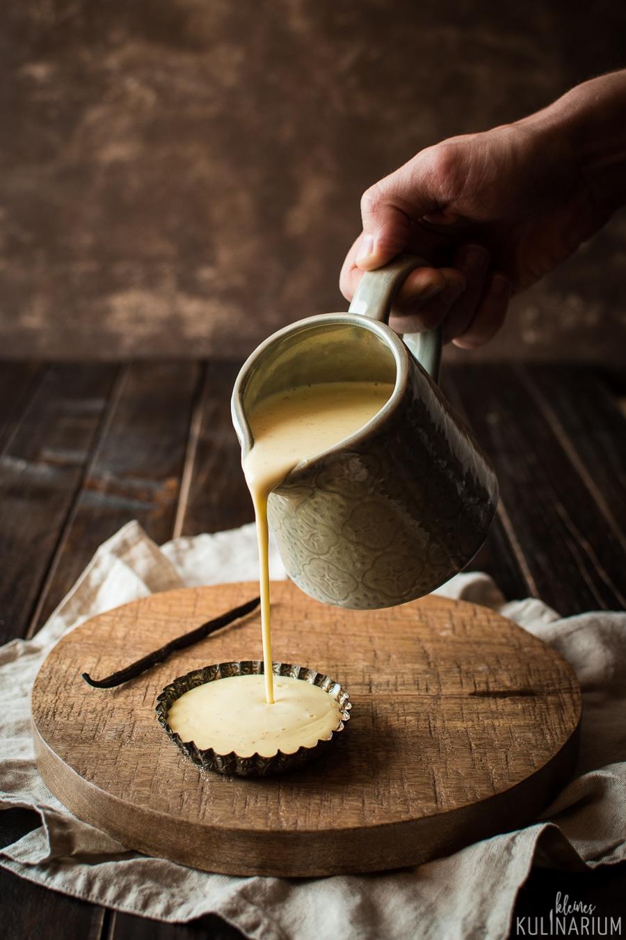 Selbstgemachte Vanillesauce ohne Tütchen - Kleines Kulinarium