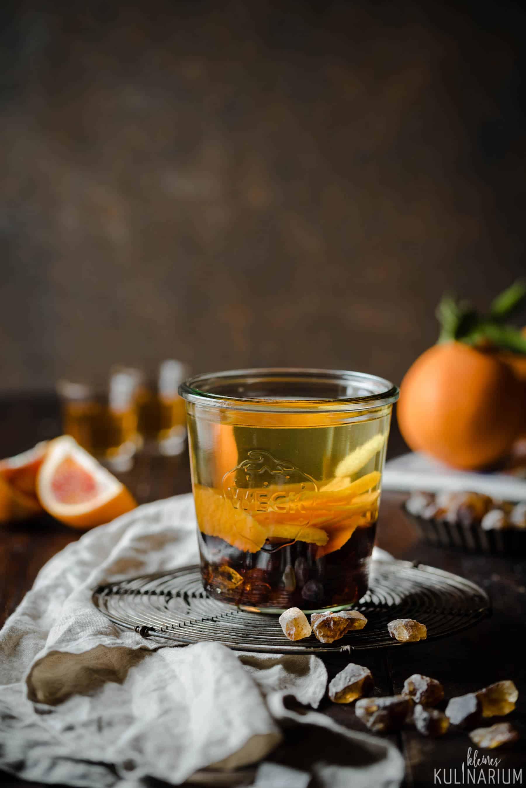 {WERBUNG} Arancello  köstlicher Orangenlikör