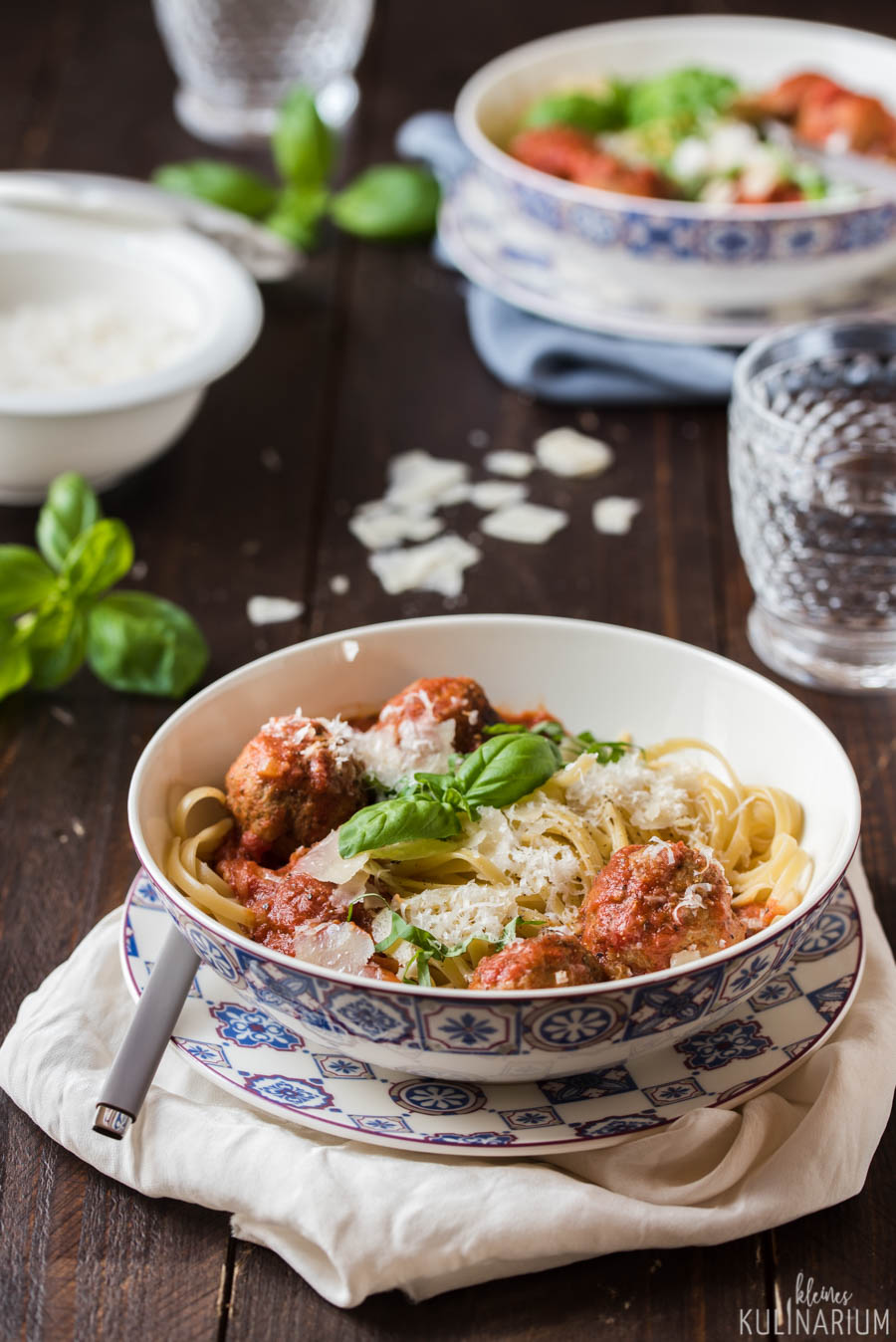 Meatball Pasta mit Villeroy & Boch - Kleines Kulinarium
