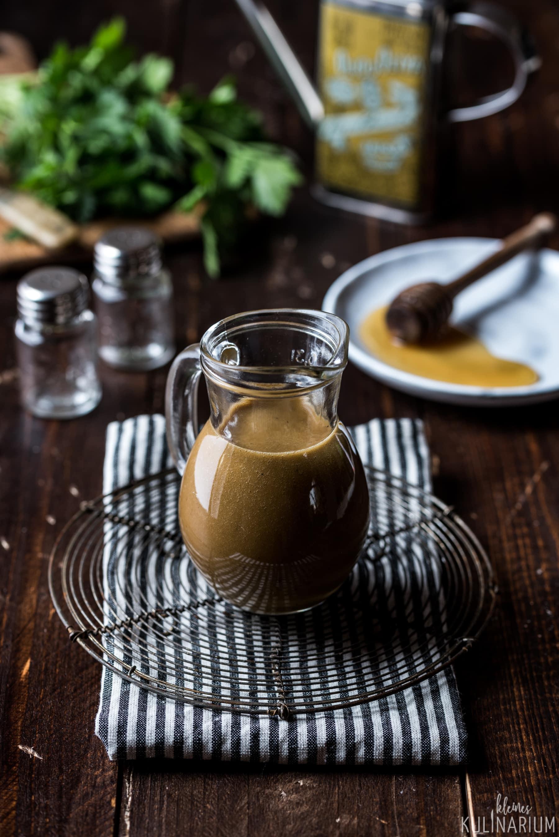 Balsamico honig dressing