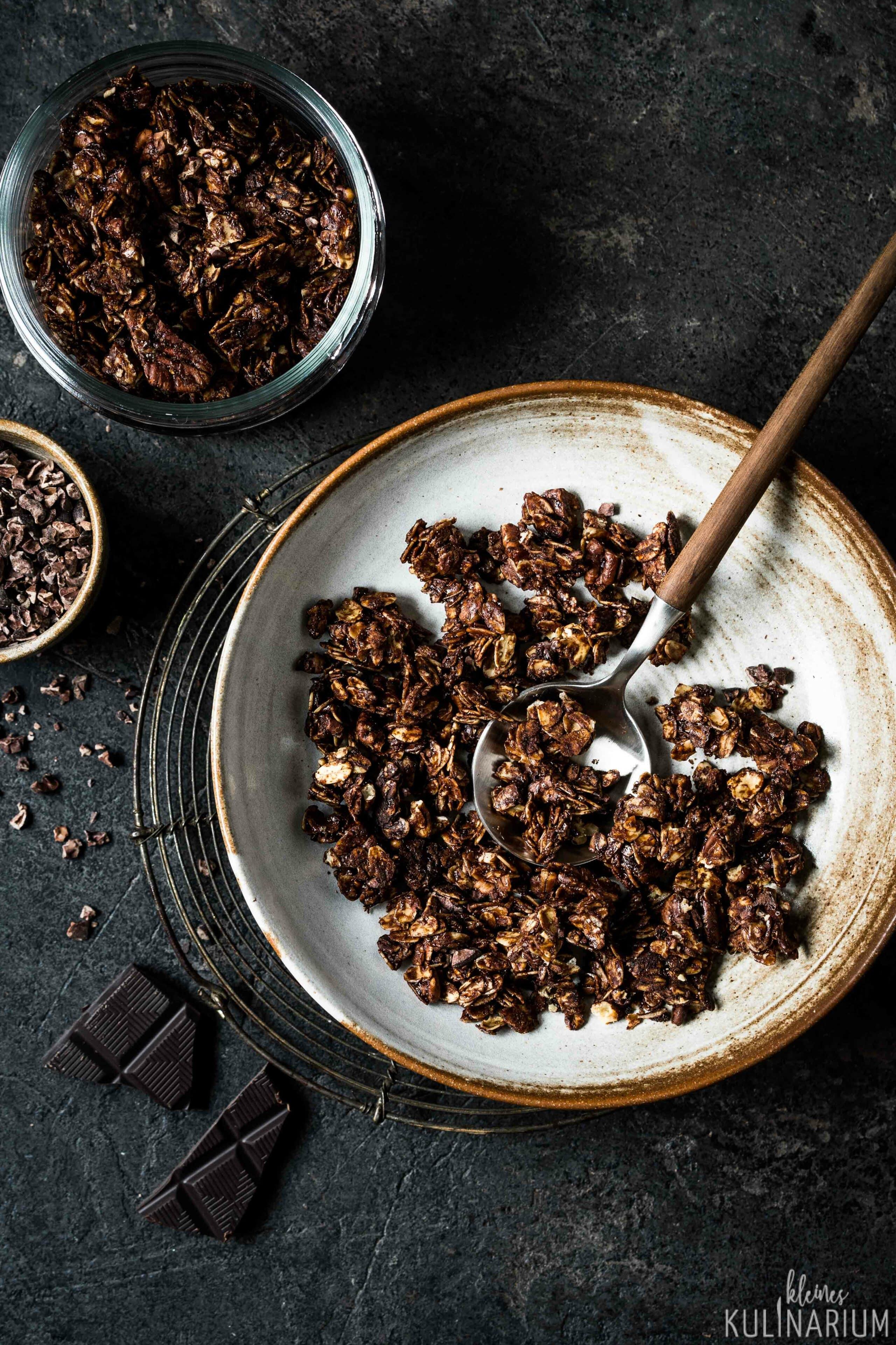 Schokoladen Granola - Kleines Kulinarium